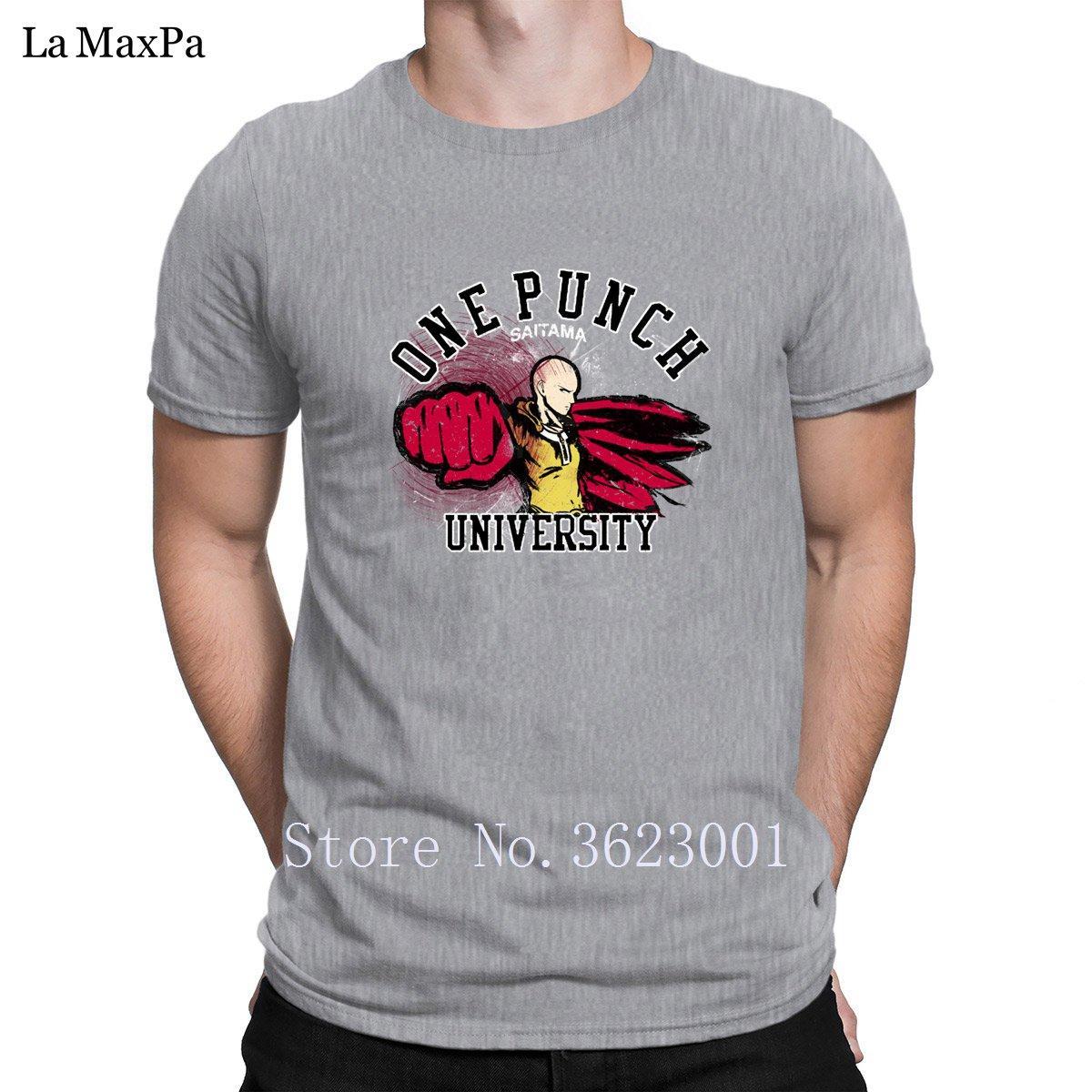 Tricotée Impressionnant Hommes T-shirts Un T-shirt Université punch pour les hommes unisexe hommes T-shirt humoristique col rond T-shirt Haut