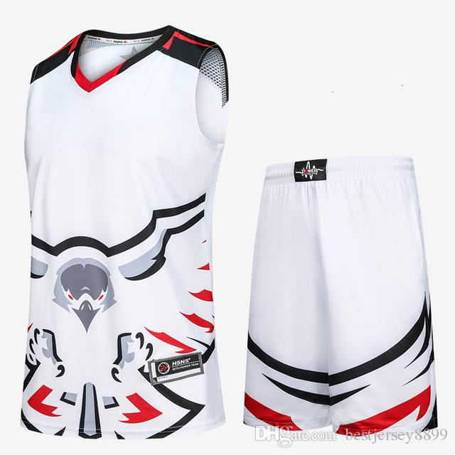 2019 homens ao ar livre roupas de basquete jerseys se adapte às mulheres em branco mulheres fatos de treino de basquete jerseys roupas uniformes personalizados