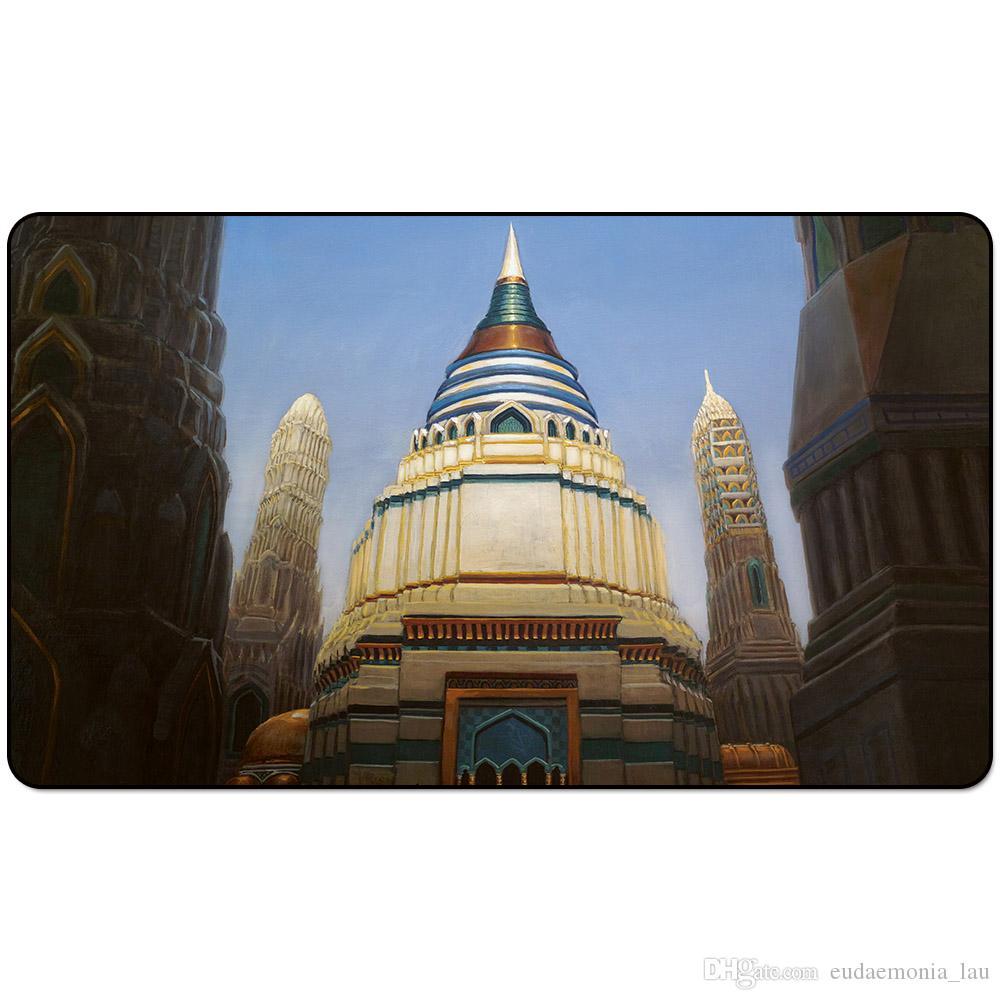 Magic Board Game Spielmatte: Libraryof Alexandria 60 * 35cm Tischset Mousepad Spielmatte Fantasy okkulte dunkle Frau wizard2Trial oTE