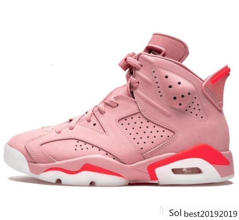 Nuovo 3m 6s Scarpe Jsp riflettente argento Millenario Rosa Gatorade pallacanestro 6 Sport Sneakers infrarossi alternativo Carmine Chaussures Designer