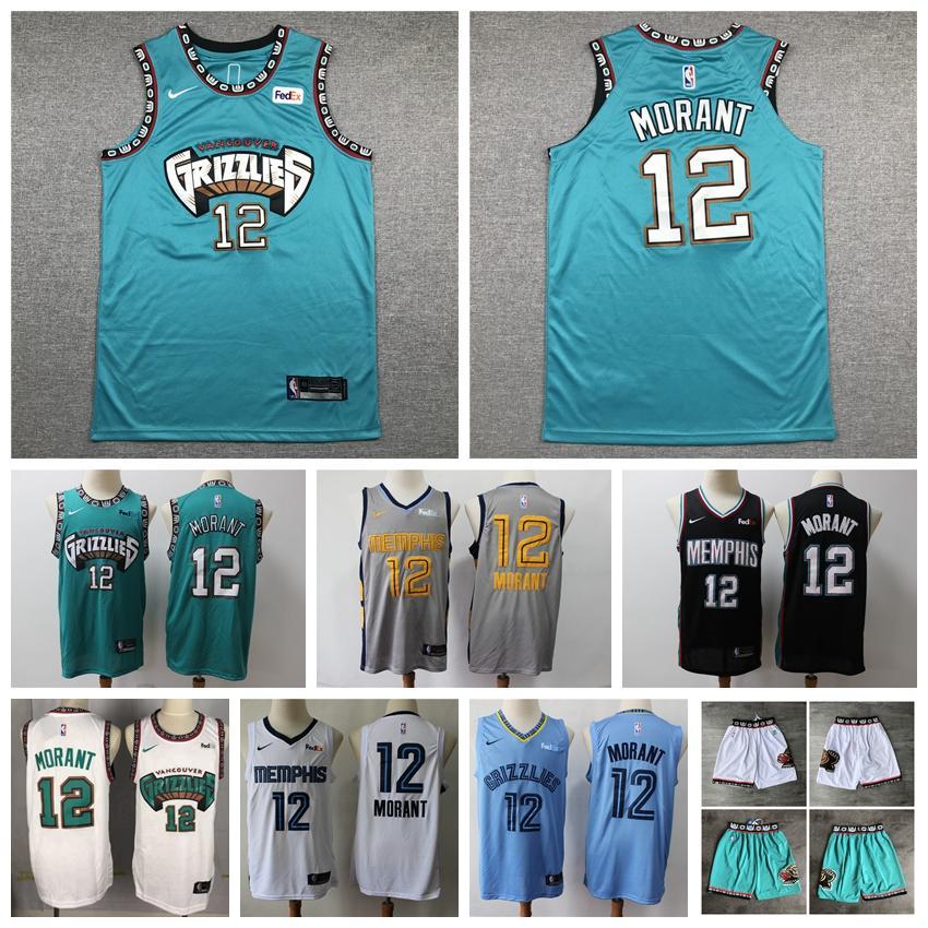 2019 2020 Nbanike 12 Ja Morant Finished Cityedition Swingman Jersey Mens 2019 20 Memphisgrizzlies Basketball Jersey Shorts From Fans Nba Nfl