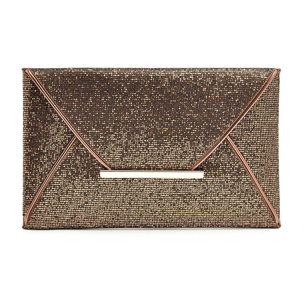Fashion Women Glitter Sequin Evening Bag Ladies Clutch Tote Messenger Bag Square Handbag Party Envelope Handbags 3 Colors