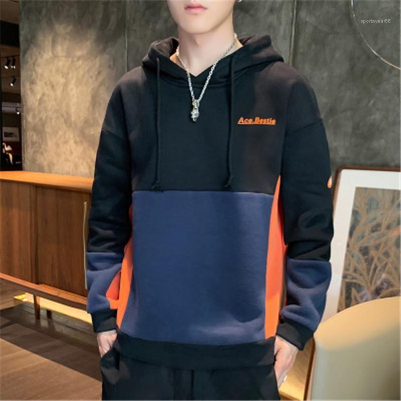 Man Sweatshirts beiläufigen langen Sleeved-Mode-Männer Hoodies Frühling-neuer Designer mit Rundhalsausschnitt Regulärer Tees Stickerei-Buchstabe-Druck