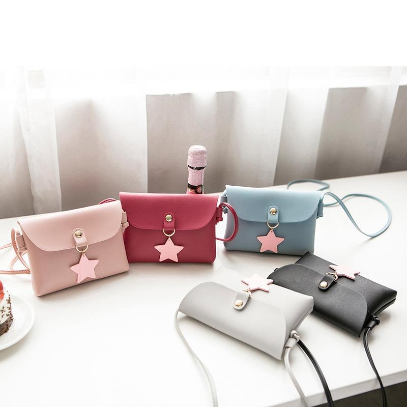Japan and South Korea new female bag mini casual small square bag shoulder messenger mobile phone