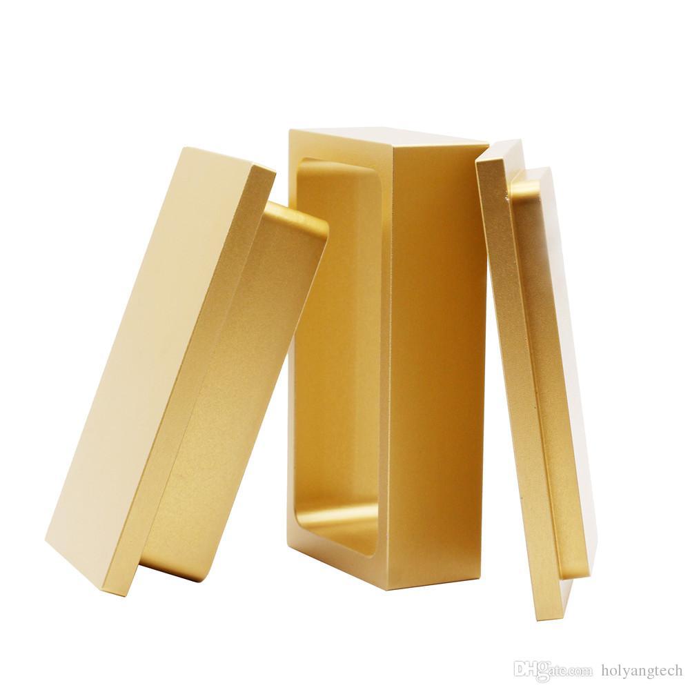 Kolophonium tech pressmaschine 2 * 4 zoll Gold kolophonium pressform vorpressform 2x4 '' pressform