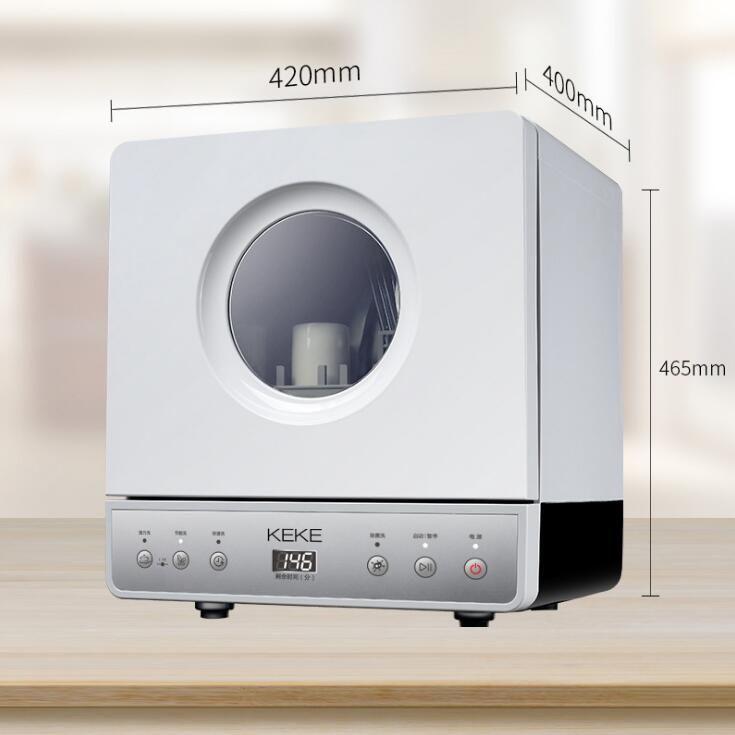 Keke lavastoviglie casa indipendente automatica mini intelligente grande capacità indipendente pennello ciotola sterilizzazione piatto macchina di lavaggio