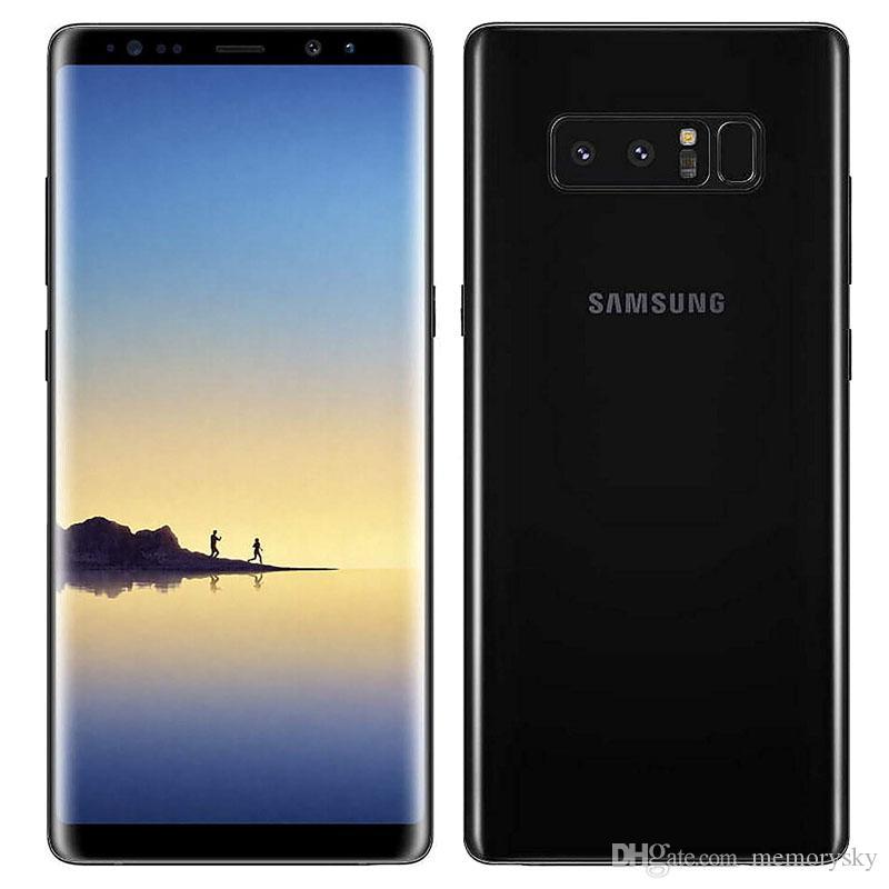 "Samsung Galaxy Note8 N950F Note 8 Original 4G مغلق LTE Phone Octa Core 6.3 ""Dual 12MP RAM 6GB ROM 64GB 3300mAh مجدد"