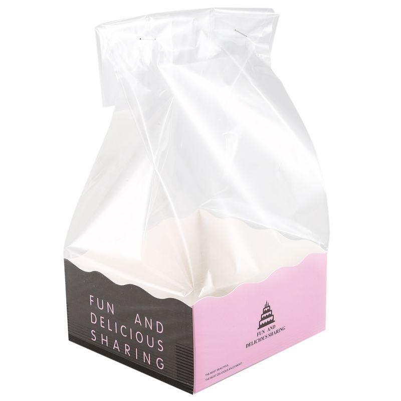10 наборов Cookie конфеты Хлеб пластиковые Бумага Упаковка Мешки Коробки Cookie Очистить партия подарков Шоколад Свадьба Бумага самообслуживания Стенд мешок