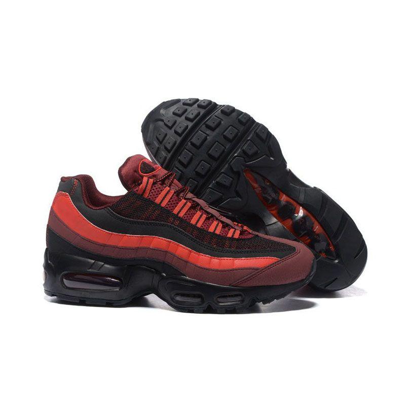 Compre Nike Air Max 95 Zapatillas De Deporte Blancas Hombres Zapatillas De Correr Negras Triples Moda De Mujer Uva Solar Rojo Amarillo Verde