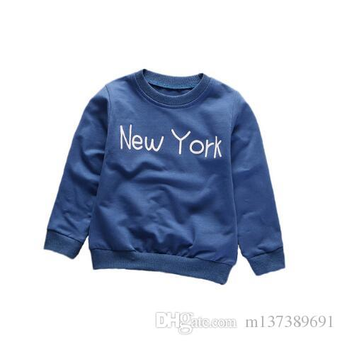 Spring Autumn Children Boys Girls Clothes Baby Fahion Leisure T-shirt Kids Pure Cotton Clothing 2019 Toddler Garment 9 Style