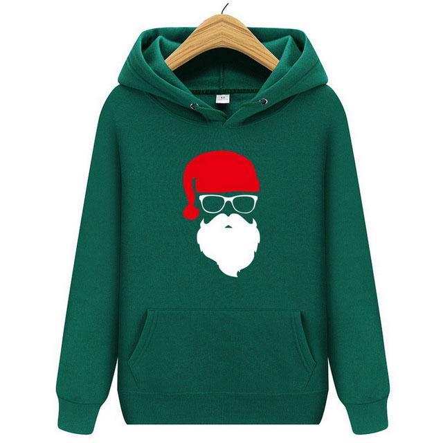 Marka Hoodies Erkekler Moda Noel Kazak Kazak Erkek Eşofman Baskılı Noel Baba Sonbahar Sudaderas Para Hombre