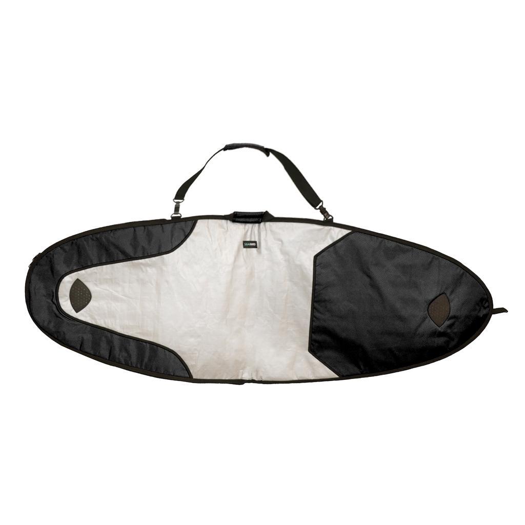 المحمولة لوح التزلج حقيبة السفر Longboard واحدة 7ft مبطن غطاء SUP حامل حزام الكتف