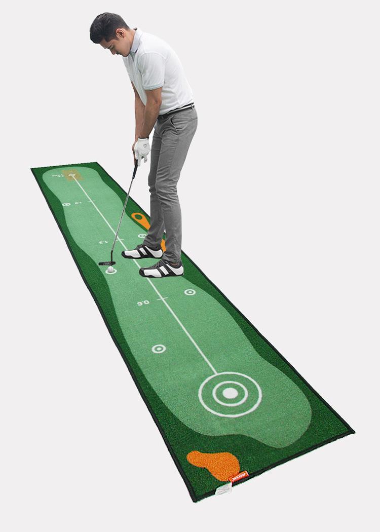 free shipping Golf Practice Mat Putting Practice Mat Indoor Green Practice Golf Mat