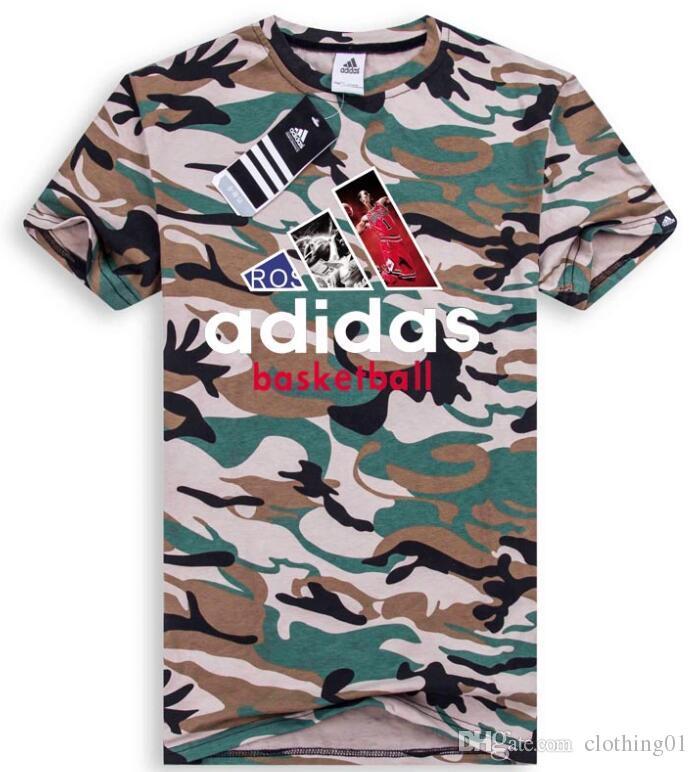 Venta al por mayor Diseño clásico Tamaño Baloncesto Verano Camisetas Para Hombres Tops Carta T Shirt Ropa de Hombre Marca de Manga Corta Camiseta Hombres Tops S-3XL