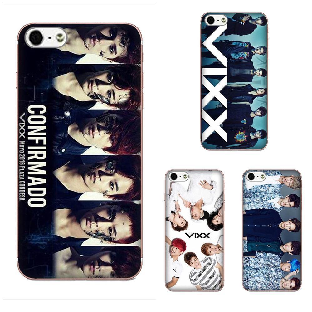 Custom Vixx Kpop For Xiaomi Mi3 Mi4 Mi4C Mi4i Mi5 Mi 5S 5X 6 6X 8 SE Pro Lite A1 Max Mix 2 Note 3 4 TPU Phone Cover Case