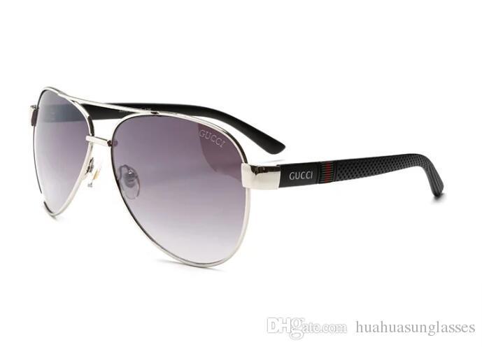 SUMMER Occhiali da donna in metallo Occhiali da sole adulti di lusso da donna Designer di moda di marca Occhiali da sole neri che guidano occhiali da sole 5776
