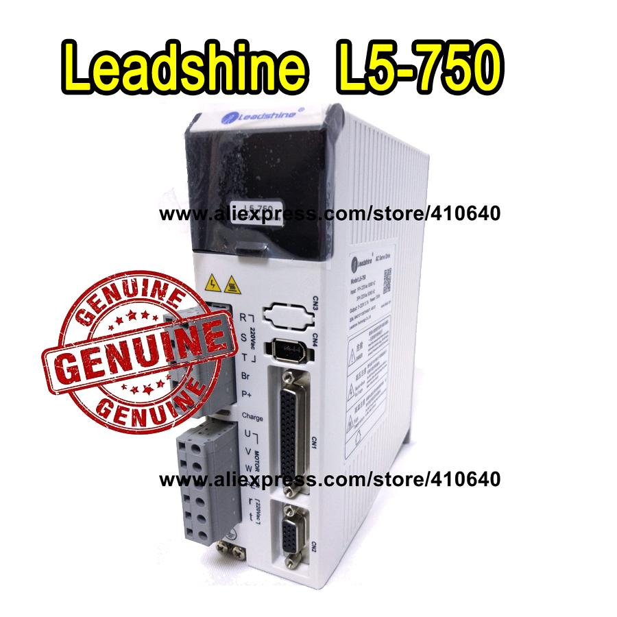 무료 배송 Leadshine L5-750z (el5-d0750) Ach750 서보 드라이브 220 230 Vac 입력 5a 피크 출력 750w 핫 판매