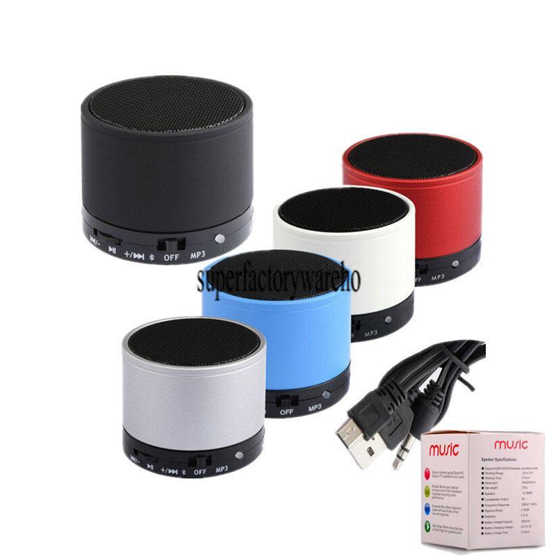 Bluetooth Speaker S10 Mini Vibration Subwoofer Speaker Portable Wireless Bluetooth Speaker S10 For PC Laptop Phone Computer