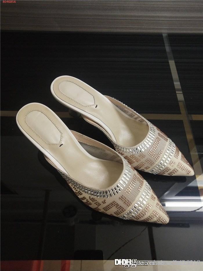 Последние женщин Высокие каблуки с носками, прозрачная сетка пряжи вода бурильных деликатных дышащая тенденции Высокий каблук туфли, размер 35-41