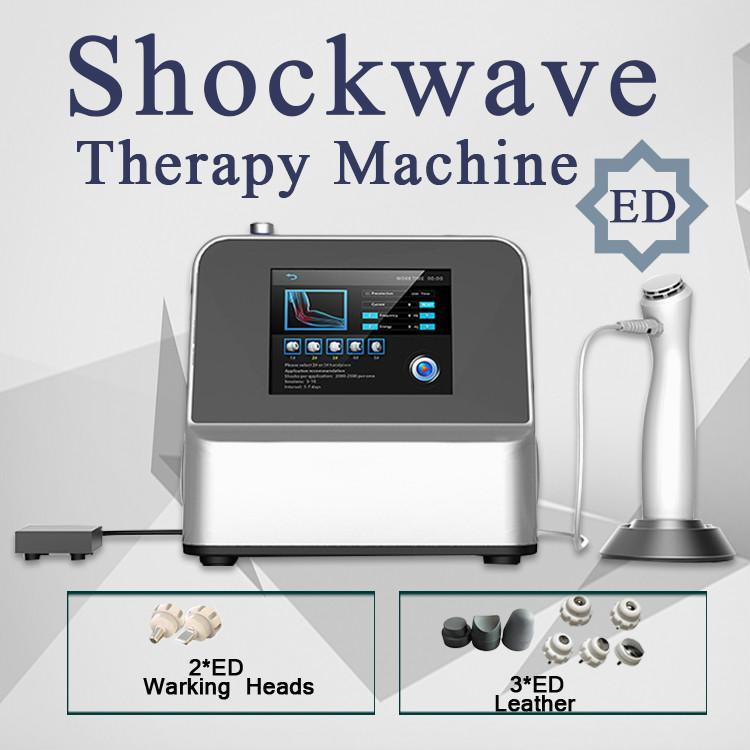 2020 Qualitäts-Orthopedics Acoustic Shock Wave ZImmer Stoßwellentherapie Maschinenfunktion Schmerzen Entfernung zur Behandlung der erektilen Dysfunktion Shockwave