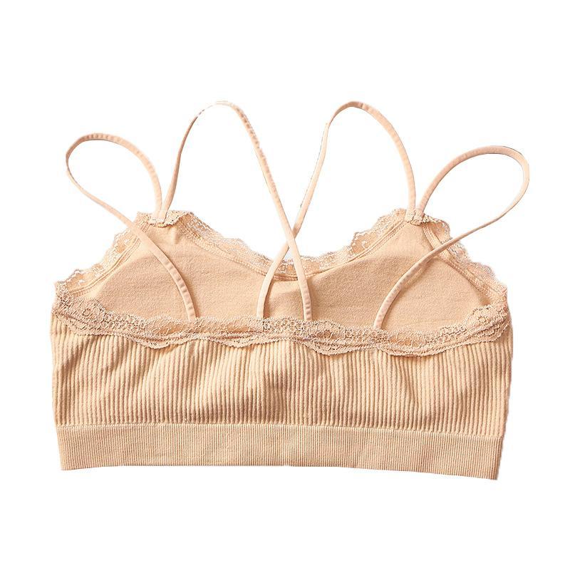 Hot Bra Seamless Lace Bra colorida roupa interior sem fio Fino Sexy Lingerie macia push-up sutiãs para Mulheres Meninas