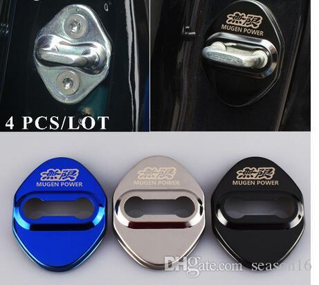 자동차 스타일링 자동차 엠 블 럼 Honda Mugen Power Accord CRV HRV 재즈 자동 스티커 액세서리 자동차 스타일링 4pcs / lot