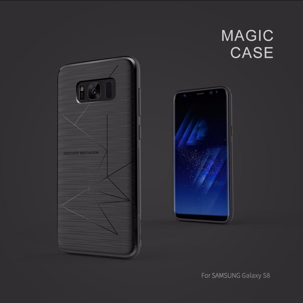 for Samsung galaxy s8 s9 & s8+ s9+ silicone case cover Nillkin magic TPU back case for Samsung galaxy s8 s9 plus