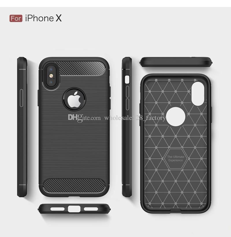 삼성 S10 S10E S9 플러스를 들어 탄소 섬유 케이스를 들어 iPhone11 X XR X가 최대 8Plus 실리콘 고무 커버 전화 케이스