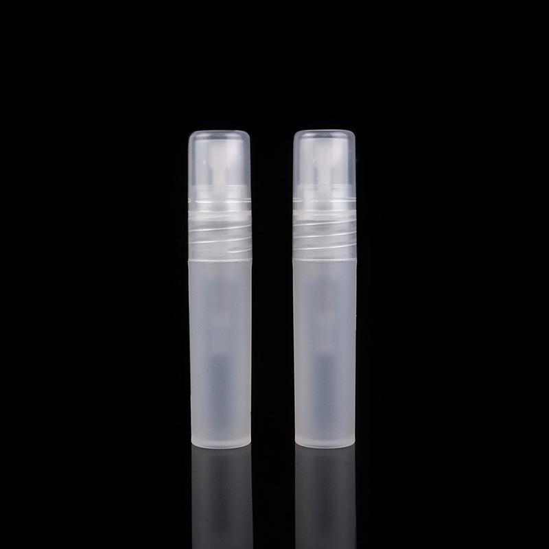 5 мл 1/6 унции распылитель пустая матовая пластиковая бутылка спрей многоразового использования аромат духи Аромат образец бутылки