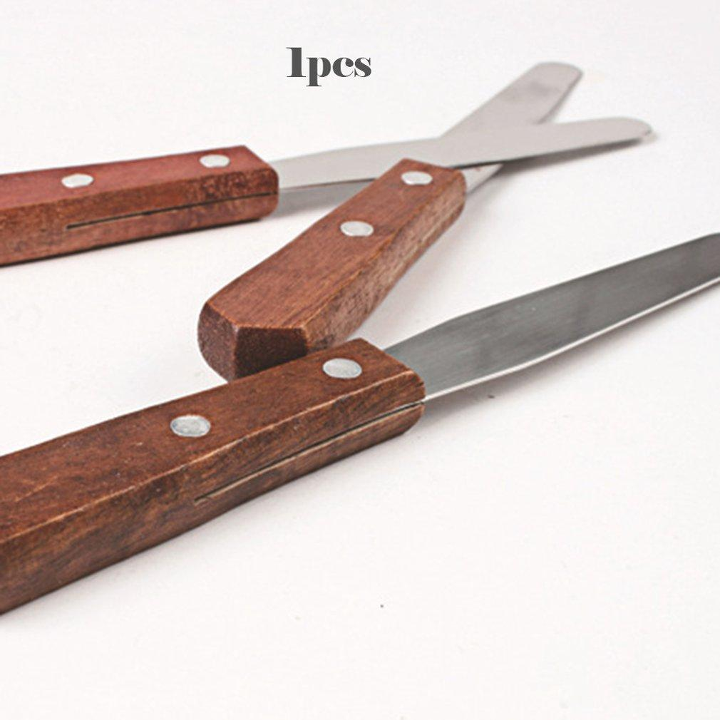 Инструменты для выпечки 4-дюймовый нержавеющей стали крем Шпатель торт Шелковый Ракель Поцелуй нож релиз нож инструмент кухне установлена