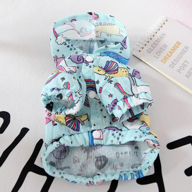 Summer Cartoon Pet Dog Clothes For Dog Soft Animal Print Puppy Vest Costumes For Small Chihuahua Cool Cat T Shirt Accessories
