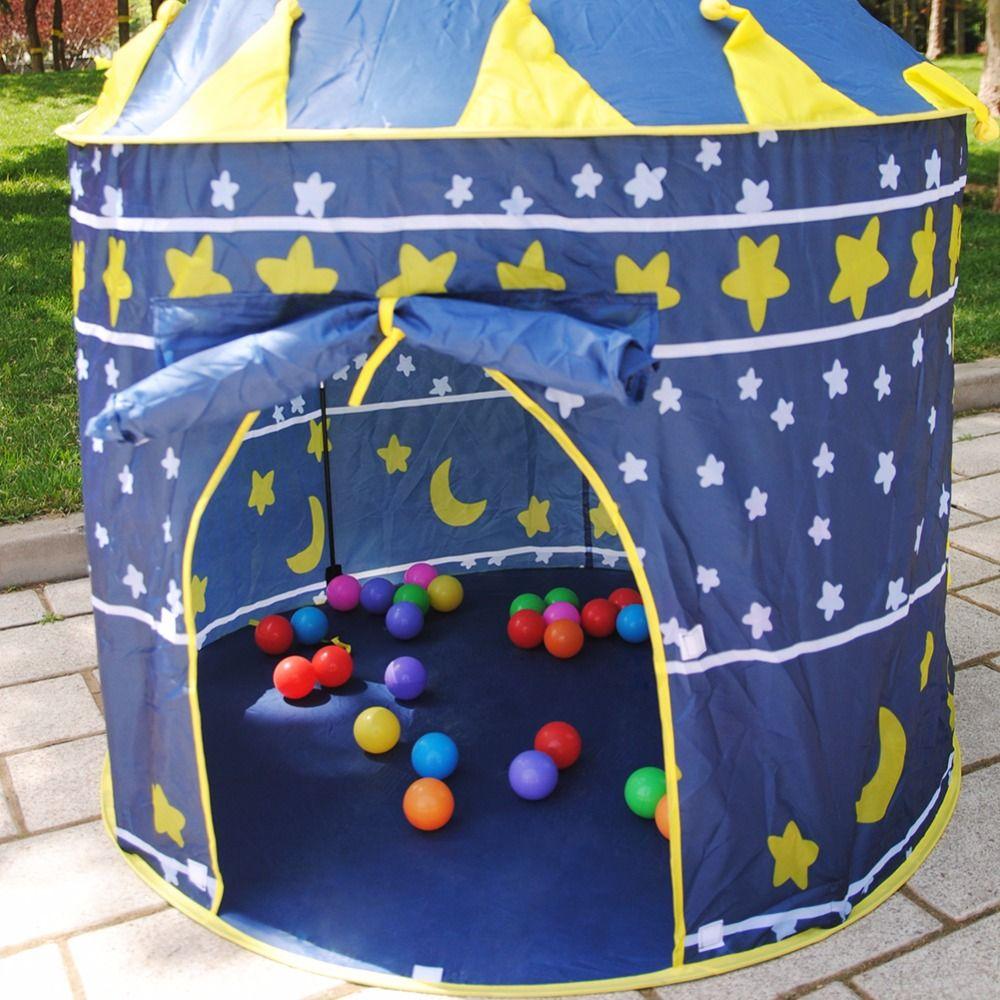 놀이 장난감 텐트 아기 공 풀 Tipi 텐트 아이 핑크 블루 텐트 어린이 놀이 집 장난감 텐트 쉬운 베이비 시터 야외 실내 장난감 텐트