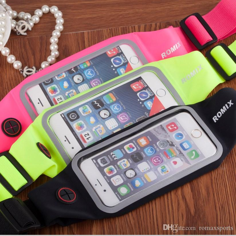 LYH RH01 Universal Sports Waterproof Phone Pockets Waist Belt Armband Bag Cases Pouch For Iphone 6 Plus Samsung Galaxy s5 S6 Edge