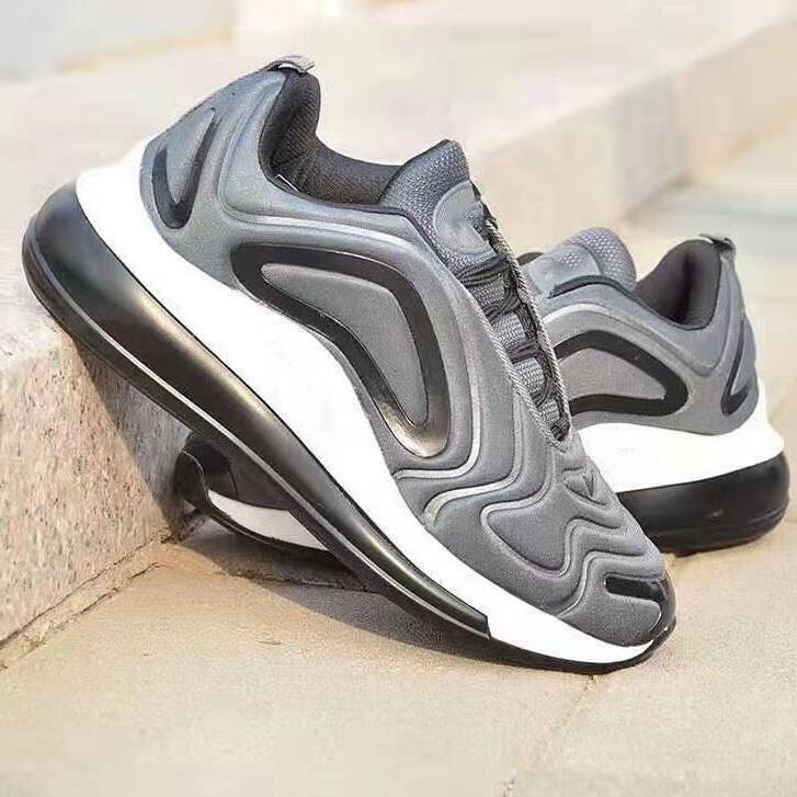 Yüksek Kalite Marka 720 Erkek Kadın Ayakkabı Moda Womens Spor Koşu Ayakkabıları Sneakers Atletizm Eğitmenler Casual Eğitim Ayakkabı Boyut 40-44