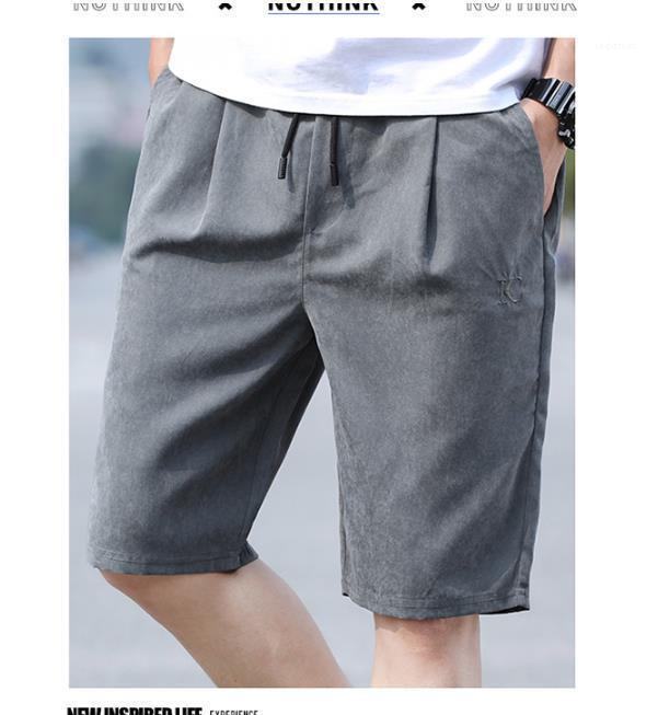 Досуг Стиль Мужской Шорты Leisu лето Мужские дизайнерские шорты Casaul пояса Letter Printed Спортивные штаны Классический