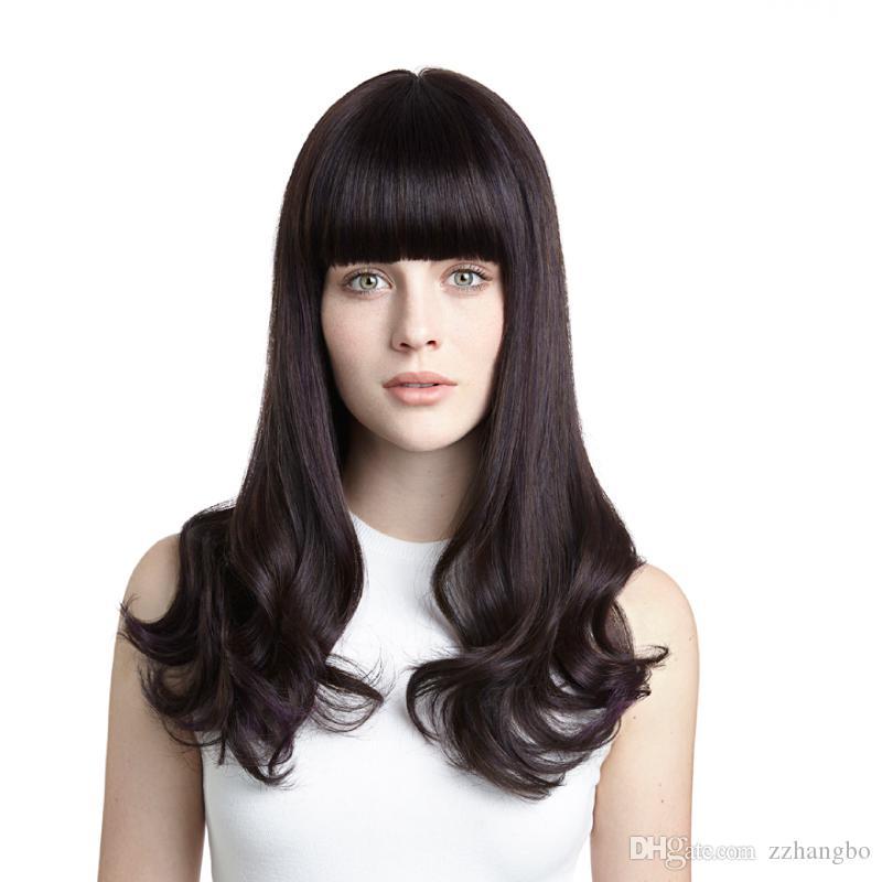 150 الكثافة يشبع الانسان الشعر الباروكات لأسود أبيض المرأة مع شعر الطفل البرازيلي ريمي الشعر قبل كامل الدنتلة اللون الطبيعي الضفائر 1b #