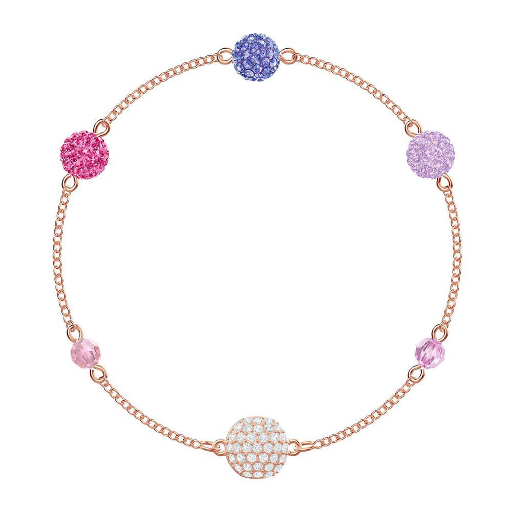 SWA RO 2019 Tendance Nouvelle REMIX COLLECTION POP VOLET fermoir magnétique caché Cirage de couleur cristal sphérique Femme Bracelet cadeau