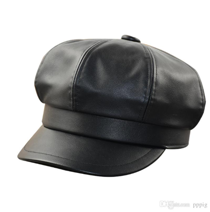 2019 European and American fashion new casual hat spring and autumn men and women beret classic retro hat
