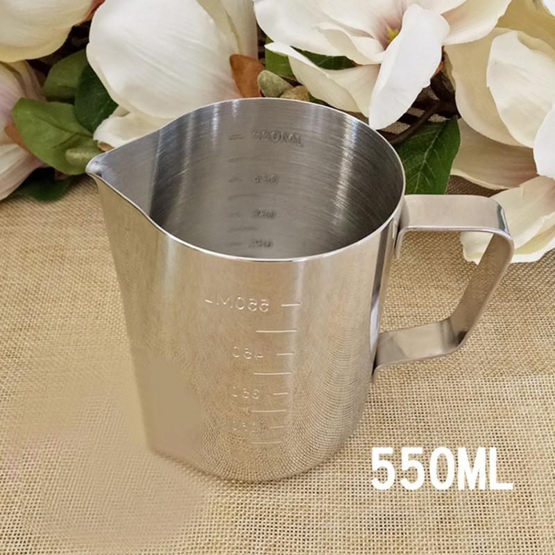 DIY Romantic Aroma Candle Making Tool Stainless Steel With Scale Mixing Spoon Wax Cup 350/550/900 Ml Crafts Accessories Handmade