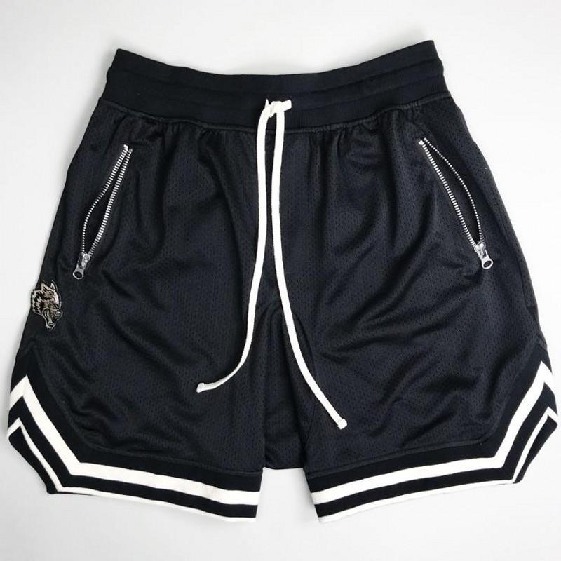 Summer net cloth Compression Shorts men's sports trousers gymnasium men's shorts leisure fashion bodybuilding