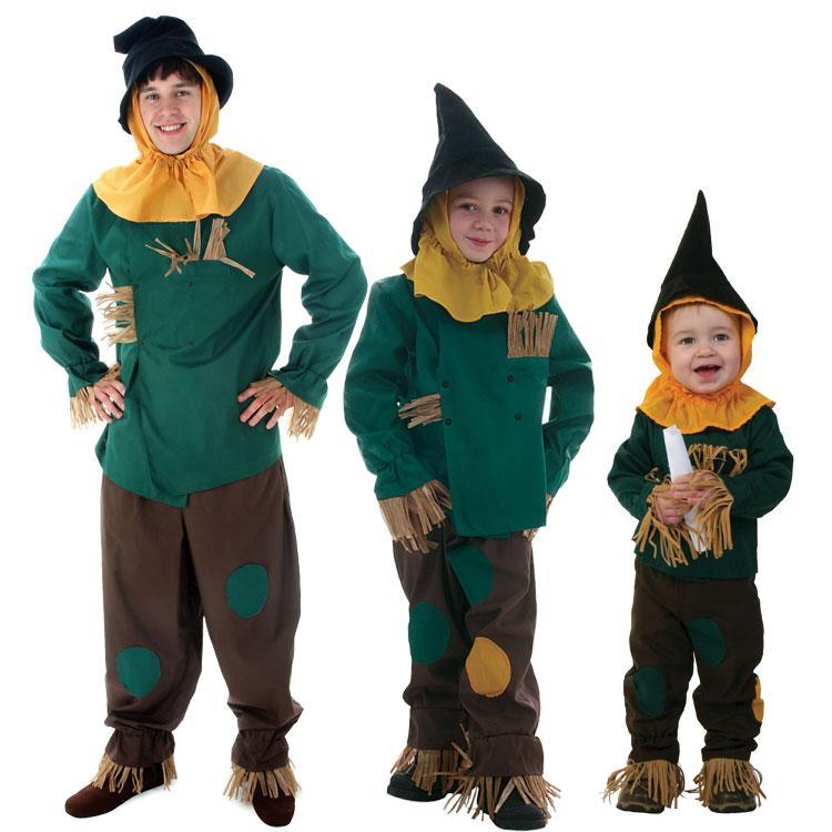 Irek Irek verde Mago di Oz Spaventapasseri Halloween Costume adulto del partito dei bambini Cosplay Facotry diretto
