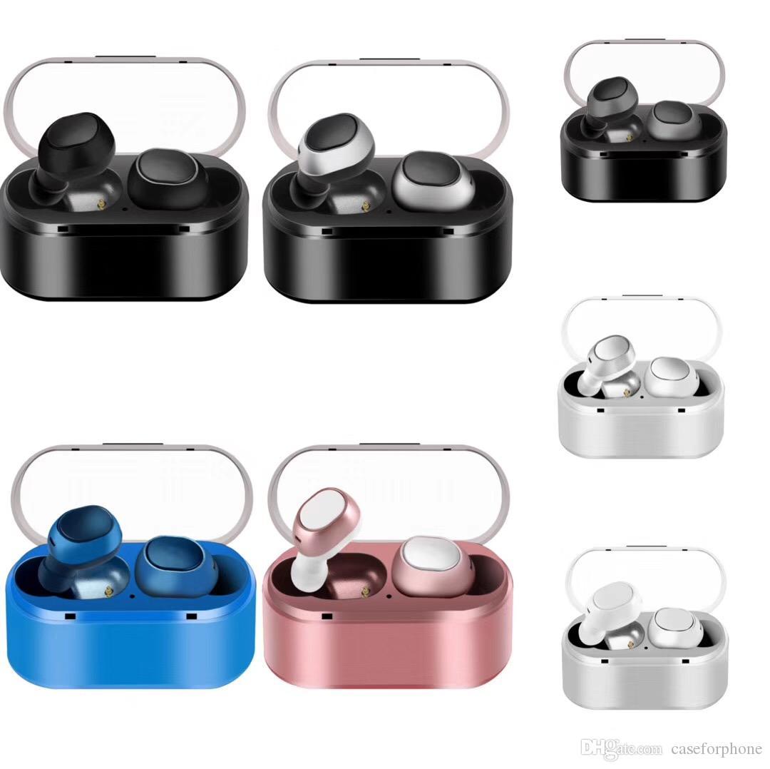 TWS16 Mini Twins True Wireless Stereo Bluetooth Earphones with charge Box CSR 4.2 Handsfree headset Dual bluetooth Earbuds PK M9