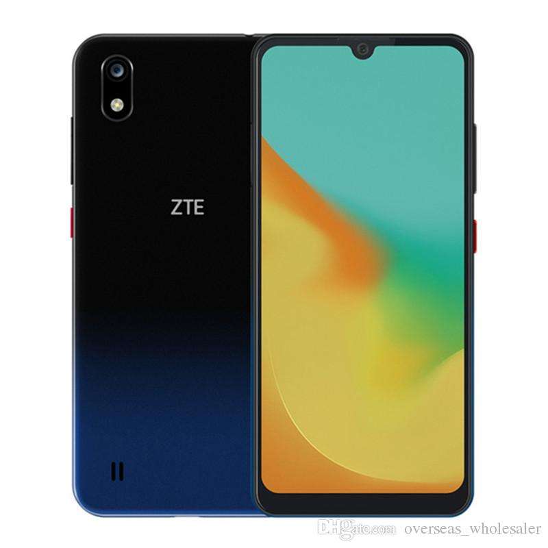 "Original ZTE Blade A7 4G LTE Cell Phone 3GB RAM 64GB ROM Helio P60 Octa Core Android 6.088"" Full Screen 16.0MP Face ID Smart Mobile Phone"