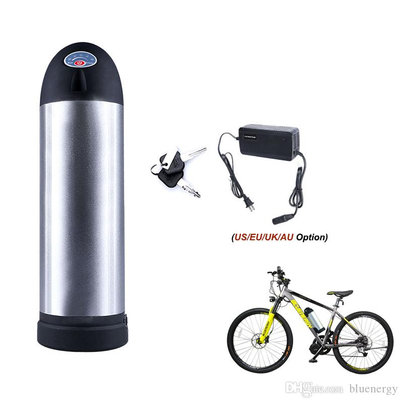 Li-ion Battery 48V 10AH Volt Rechargeable Bicycle 500W E Bike Electric Li-ion