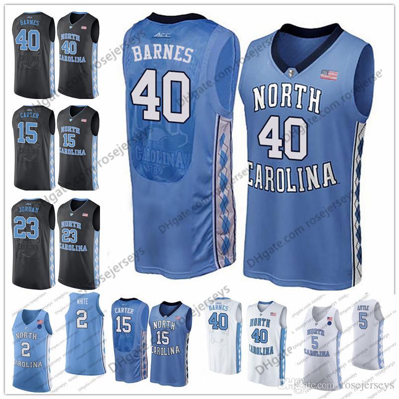 Brandon Huffman North Carolina Basketball Jersey - Black
