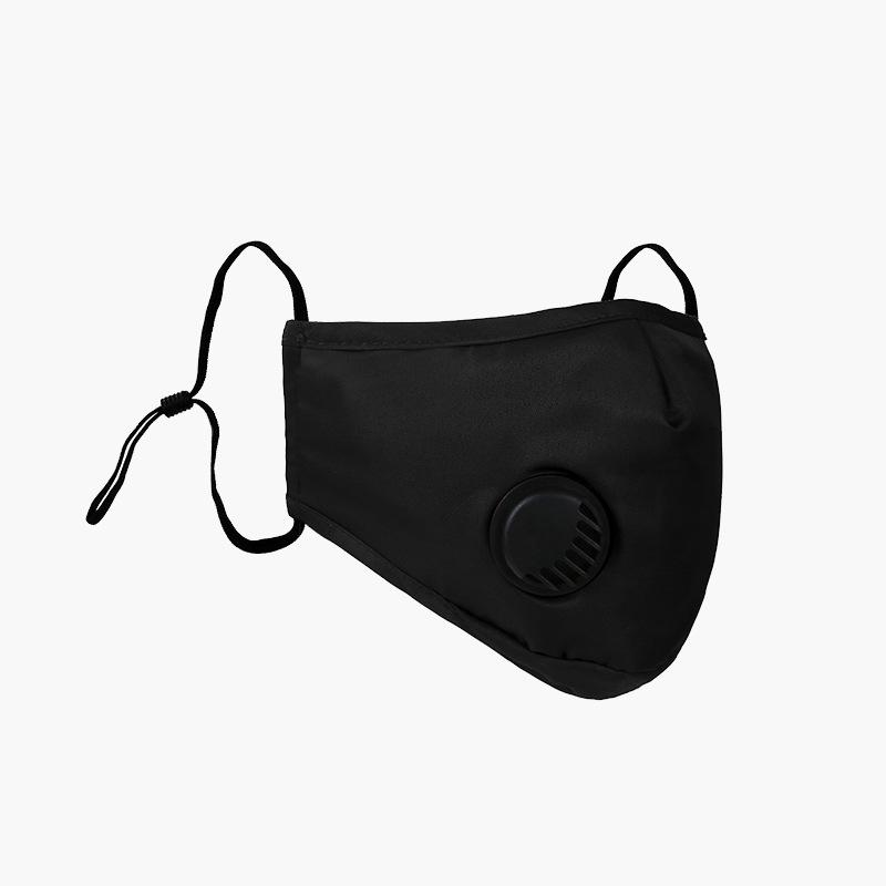 Nuovo disegno stampato sulla faccia del filtro Maschera con la respirazione valvola Protezione delle vie respiratorie respiratore esterna Ciclismo Bocca Maschera Uomo Donna 10lj E1