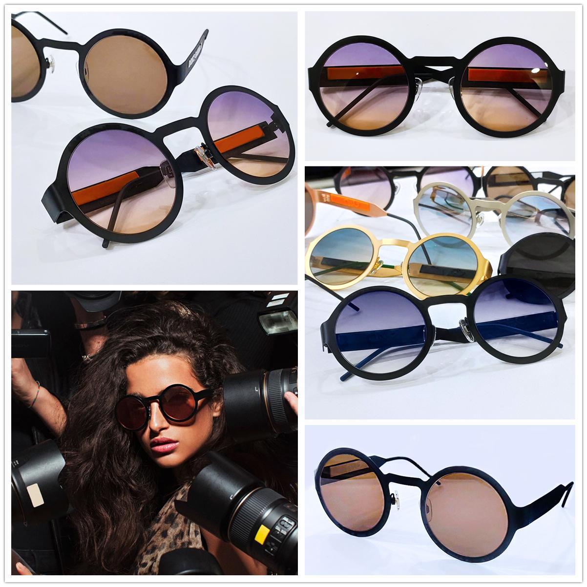 Роскошные Миллионеры очки для женщин полного кадра Урожая дизайнерских очков для мужчин Блестящих Золотого логотипа Горячего надувательства Позолоченных Top 2234