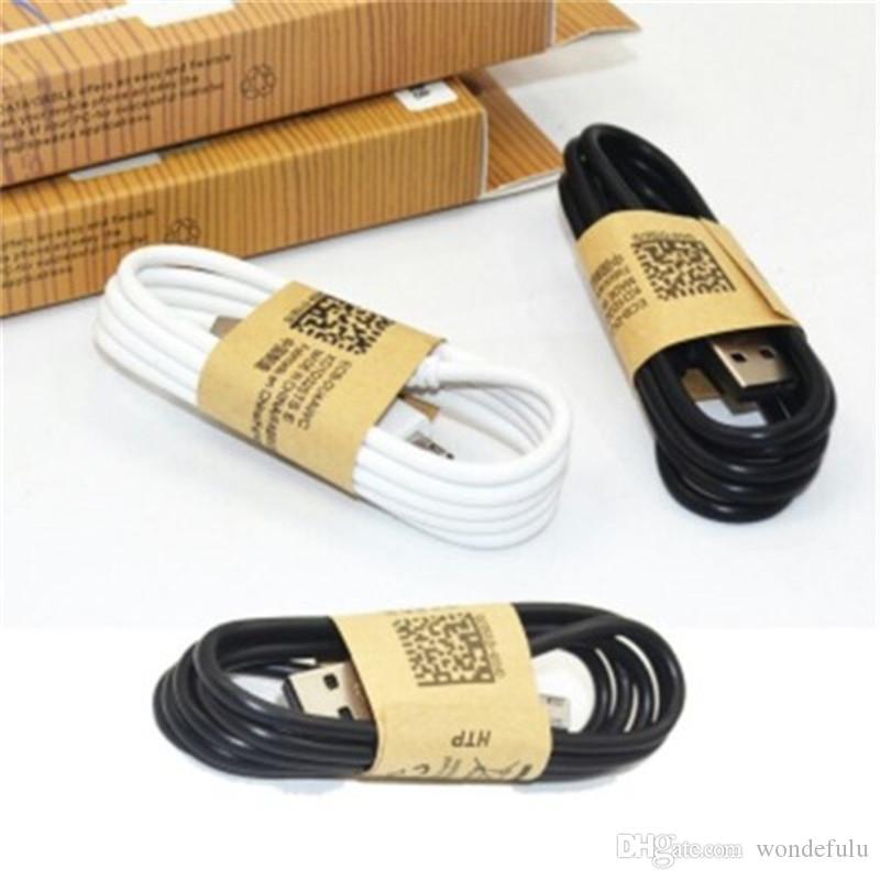 Haute qualité Micro USB Câble Android Câble de charge V8 Chargeur de données Câble adaptateur pour S7 S8