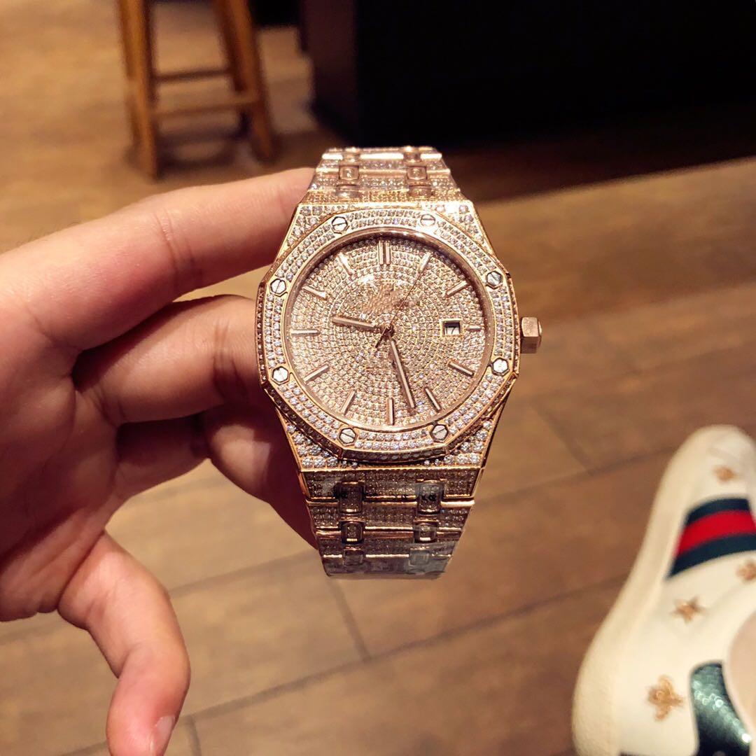 Современная горячая Новое высокое качество Xi mechani41mm Те-чэн * 10мм дизайнер часы наручные часы Приборы Алмазные часы Set шнек