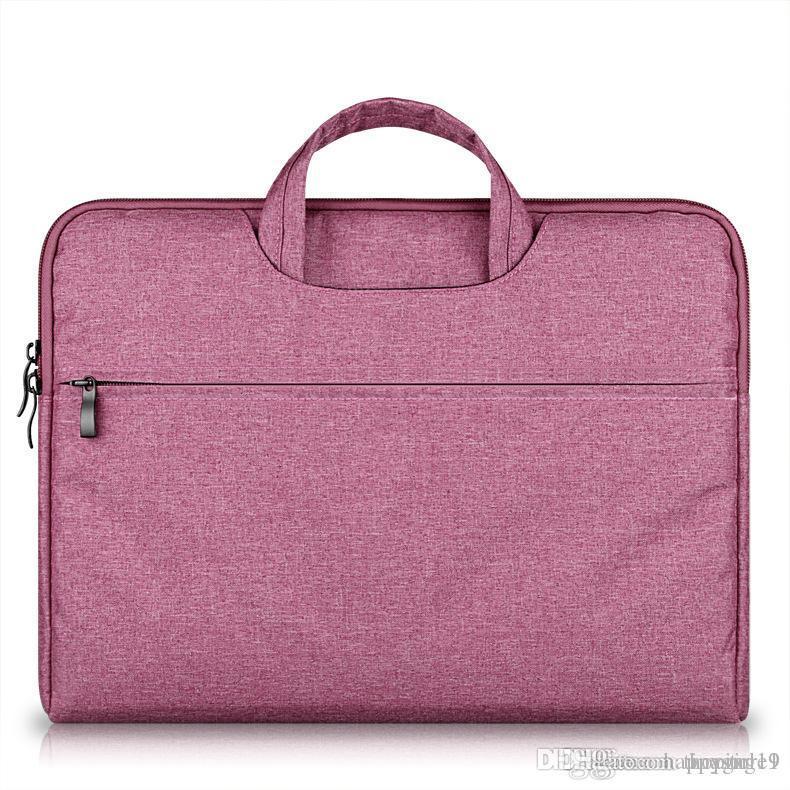 Maletín para portátil Capacidad grande del bolso del bolso del cuaderno para los hombres mujeres viajan Bussiness Para 11 12 13 14 15,6 pulgadas MacBook Pro Funda PC